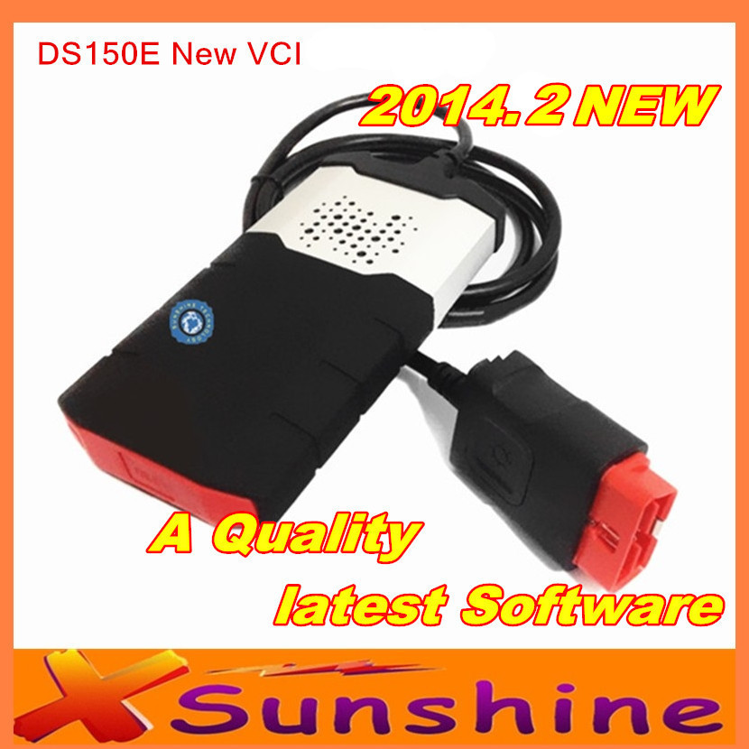 2014 Newl VCI TCS CDP Pro DS150E Diagnostic Scanner CDP DS150 2014 R2 With Keygen For Cars/Trucks/Generic 3 IN1No Bluetooth(China (Mainland))