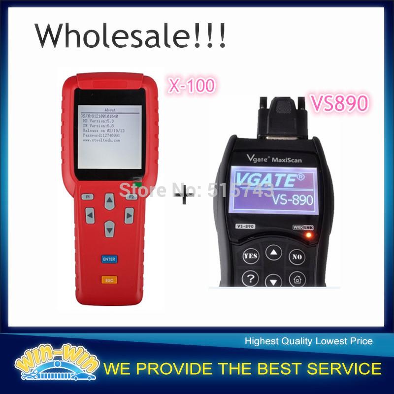 DHL frete grátis !!! 2014 nova versão X100 programador X-100 auto-chave programador X 100 + Atualização Original online + 1pc dom gratuito(China (Mainland))