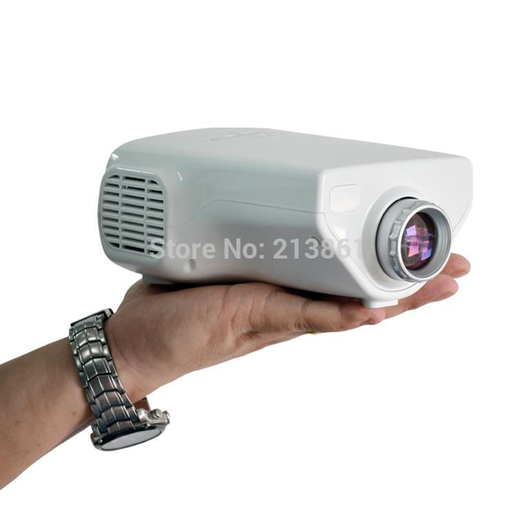 Проектор Other E03 HD Proketor 1080P Proyectores VGA USB HDmi AV TV телевизор 28 samsung lt28e310ex hd 1366x768 vga usb hdmi черный