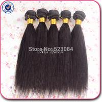 5A virgin hair brazilian virgin hair straight cheap brazilian hair 3 pcs lot free shipping brazilian straight human hair weave