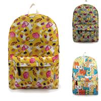 Women's Casual Daypacks Backpack children's printing backpack children school bags men travel bag canvas coloful bags B007