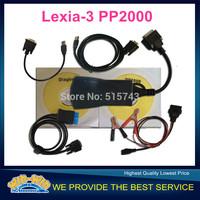 2015 NEW Lexia 3 peugeot pp2000 Plus with LED light Lexia3 Lexia-3 lexia 3 citroen peugeot diagnostic tool With New Diagbox 7.56