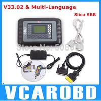 2014  Free Shipping Professional Auto Key Programmer Multi-language Silca V33.02 SBB Key Programmer
