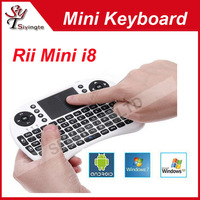 Fly Air Mouse Rii Mini i8 2.4G Remote Control Wireless Keyboard with Touchpad for PC Pad Google Andriod TV Box Xbox360 IPTV