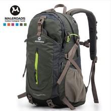Maleroads 40L waterproof women&men travel backpack outdoor camping mochilas climbing hiking backpack bagpack sport back bag 2014(China (Mainland))