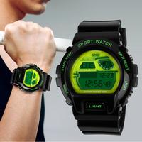 2014 Skmei Sports Watches LED Electronic Digital Watch 50m Waterproof Fashion Outdoor Student Dress Wristwatches For Men Women