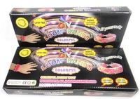 Free Ship Fashion Loom Band Kits Fun Loom Rubber Bands Kit DIY Bracelets Colorful Children Toy Gift For Jelly Bracelet Bangle
