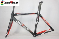 Costelo rxrs frame 2015 high quality for sale road bike carbon fiber frame BB30 weave 3K frame bicycle free shipping
