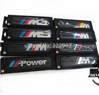 M Power Chrome Car Front Grille Badge Logo Emblem For M3 M5 M6 Clearance