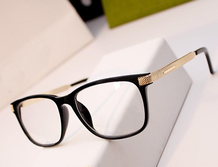 Fashion Decorative Reading Glasses Brand Radiation-Resistant Computer Goggles Plain lenses men Women oculos de grau femininos(China (Mainland))
