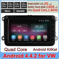 "2014 100% Pure Android 4.2 8"" In dash PC Car DVD GPS OBD for VW Jatta Golf MK5 Golf VI Passat B6 Polo Tiguan Touran Caddy cc"