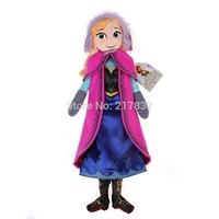 HOT SELLING 50cm Doll Frozen Princess Elsa & Anna Plush Doll Toy Boneca Frozen Brinquedos Frozen Doll Toy