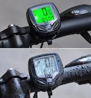 New Hot Wireless Cycling Bike Bicycle speedometer Computer Odometer with LCD display Waterproof B2 SV003368