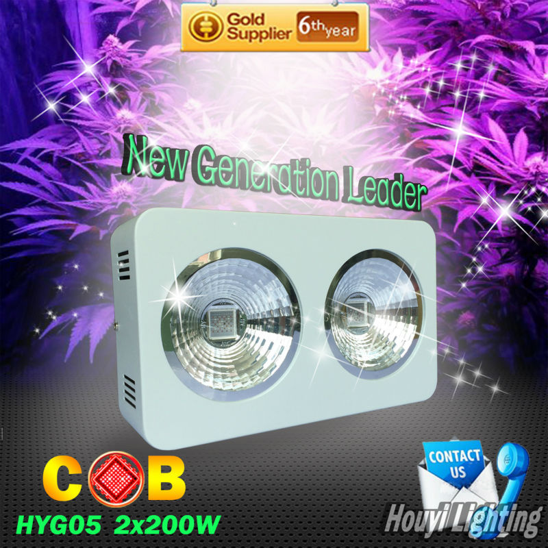 Free Shipping USA Demestic Delivery High power 400W COB Led Grow Light Full Spectrum for Indoor Planting with 3 years warranty(China (Mainland