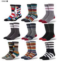 Free shipping marijuana style stance socks men Half Terry Cotton Skate Socks harajuku elite calcetin happy socks 186w