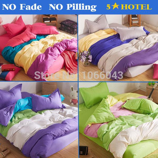 Home Textile Diamond Cotton Bedding Sets 3-4pcs/Bed set Cotton Duvet Cover Bed sheet Pillowcase Twin Full Queen ropa de cama(China (Mainland))