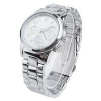New Luxury Men Business Watches Women Dress Watches 2014 Quartz Noble Rose Golden Round watches Wristwatch 3 Colors b6 SV004768