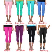 Queen yoga brand yoga clothing, Cheap top quality 87% nylon 13% spandex hemp gray women gym wear yoga capris