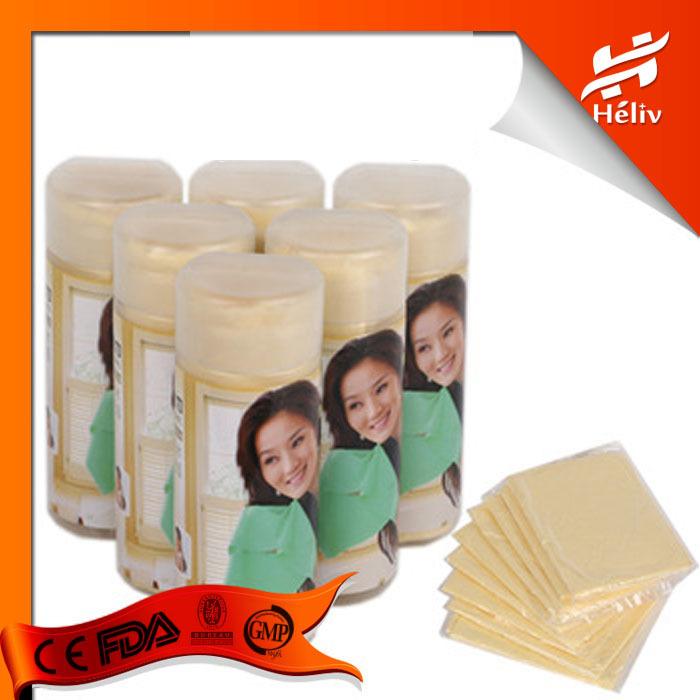 Medium Size Deer Skin PVA Chamois Car Wash Towel Cleaning Shammy Car dry hair towel cleaning cloth belt bucket Free Shipping(China (Mainland))