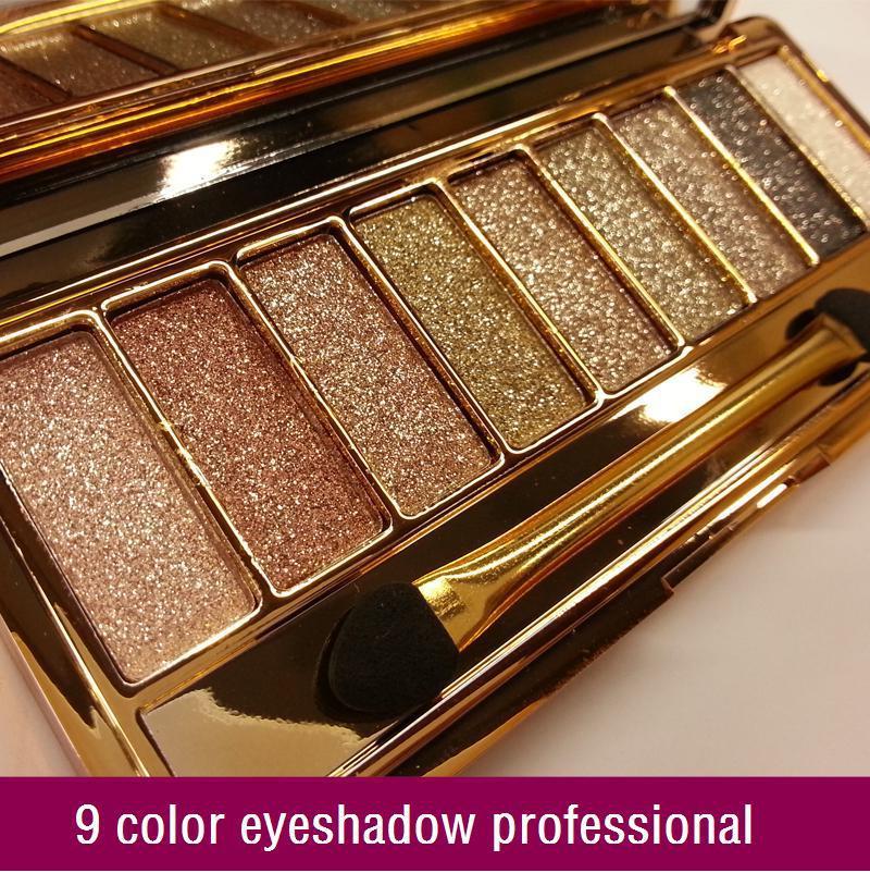 9 colors diamond bright colorful eye shadow eyeshadow super flash ( sombra de ojos / fard a paupieres )(China (Mainland))
