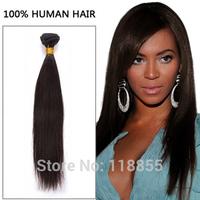 Free shipping Brazilian virgin Remy straight hair weave 3pcs 300g unprocessed 6A 1b Brazilian silk straight human hair bundles
