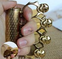 2015 skull creative metal thin jet butane flame windproof gas lighter,cool defensive cigarette lighter crafts gifts for men