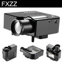 New 200Lux 3D Mini Multimedia LED Projector Home Education Cinema AV TV VGA HDMI USB TF Free Shipping for Russia Brazil