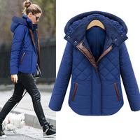 Winter Jacket Women New Fashion Outerwear Hooded Down Jacket Slim Warm Cotton Coats Jackets Plus Size Women's Winter Jacket