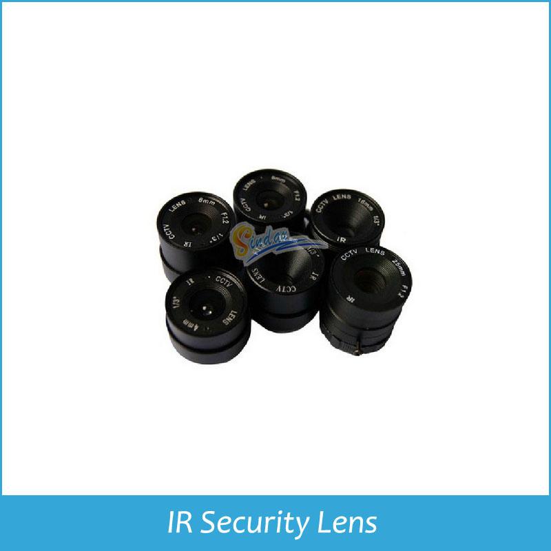 Гаджет  4/6/8mm F1.6 1/3 inch CS lens IR surveillance lens for CCTV security cameras None Безопасность и защита
