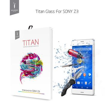 99% высокая прозрачное стекло защитная пленка Sony Xperia Z3 премиум закаленное стекло экран протектор GODOSMITH титан