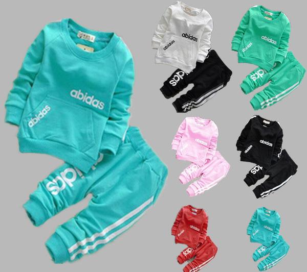 осень весна 2 шт. комплект одежды + брюки устанавливает, спортивный кост