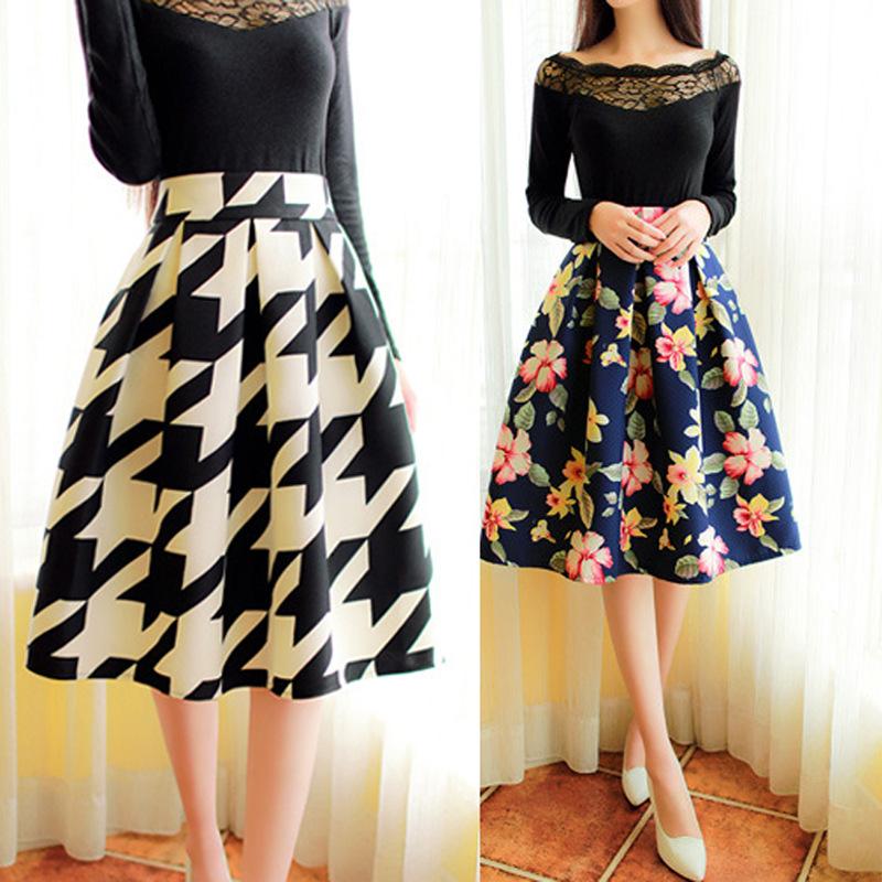 Knee Length Skirts | Gommap Blog