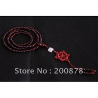 BRO822  Indian 216 beads prayer beads malas,red sandalwood rosary,4*3mm,lovely slim necklace for girl,best offer