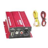 F569B 2 CH 500W USB Amplifier Car Motorcycle AMP MA-150 Car Amplifier Amps ATV