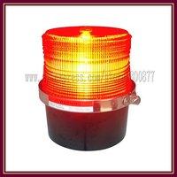 "Fire caution light, Red color, ""U"" type xenon strobe bulb, 8W, Magnetic install, DC12V, PC lens, Waterproof, Strobe light"