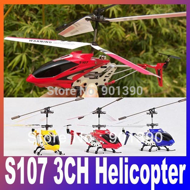 Wholesale Syma s107 s107G RC Helicopter Metal 3CH RC Helicopter,Remote Control Helicopter,Gyro Toy Free Shipping(China (Mainland))