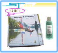 Free Shipping 20in 1 USB Simulator Cable Phoenix 3.0 FMS G4 G4.5 G5 AeroFly XTR RC Real Flight - ST-FS1201 supernova sale