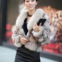 (#11-0802)free shipping women's 100% genuine blue fox fur vest/fox fur coat/fox fur garment/retail/wholesale/different colors