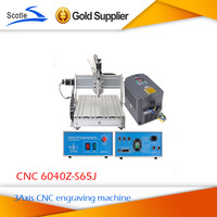 The most senior 220v CNC router 6040 CNC6040z-s65j 800w engraving machine  CNC Cutting Machine Carving Drilling Milling Machine