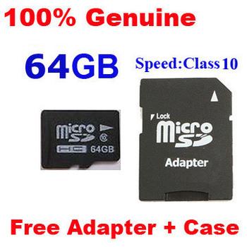 Dropshipping 4/8GB C4 ,Full Class 10 16GB 32GB 64GB MicroSD Micro SDHC TF Card Flash Memory Card C10 with SD Adapter