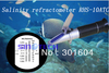 Hand held  Salinity Refractometer aquarium refractometers (0-10%salinity)RHS-10ATC
