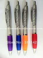 2013 best selling high quality Plastic pen set imprinted logo