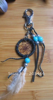 shipping free native american dream catcher keychain!! 2pcs/lot