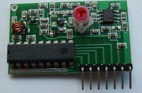 Free shipping RF wireless Super regeneration Decoder receiver module