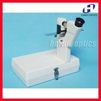 Portable lensmeter Handheld focimeter Optical lens meter AA battery powered