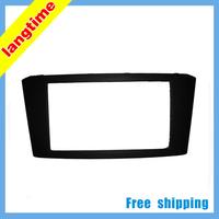 Free shipping-Car refitting DVD frame,DVD panel,Dash Kit,Fascia,Radio Frame,Audio frame for 03-08 Toyota Avensis,2DIN