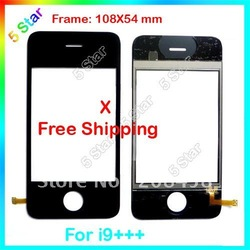 Promotions Brand New i9+++ Touch Screen digitizer glass for i9+++, Free Shipping. (I68 3G)(China (Mainland))