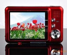 "NEW 12.0 MP 2.7""TFT LCD DIGITAL CAMERA 8X Digital Zoom, Anti-shake, Rechargeable Lithium Battery, Camera Bag,  Free Shipping(China (Mainland))"