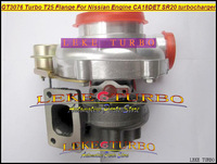 Wholesale NEW GT3076 T25 Flange Turbo Turbine Turbocharger For Nissian Engine CA18DET SR20