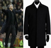 2014 winter Famous Brand wool coat mens Long trench coat jacket plus size outerwear coats men dropship(China (Mainland))